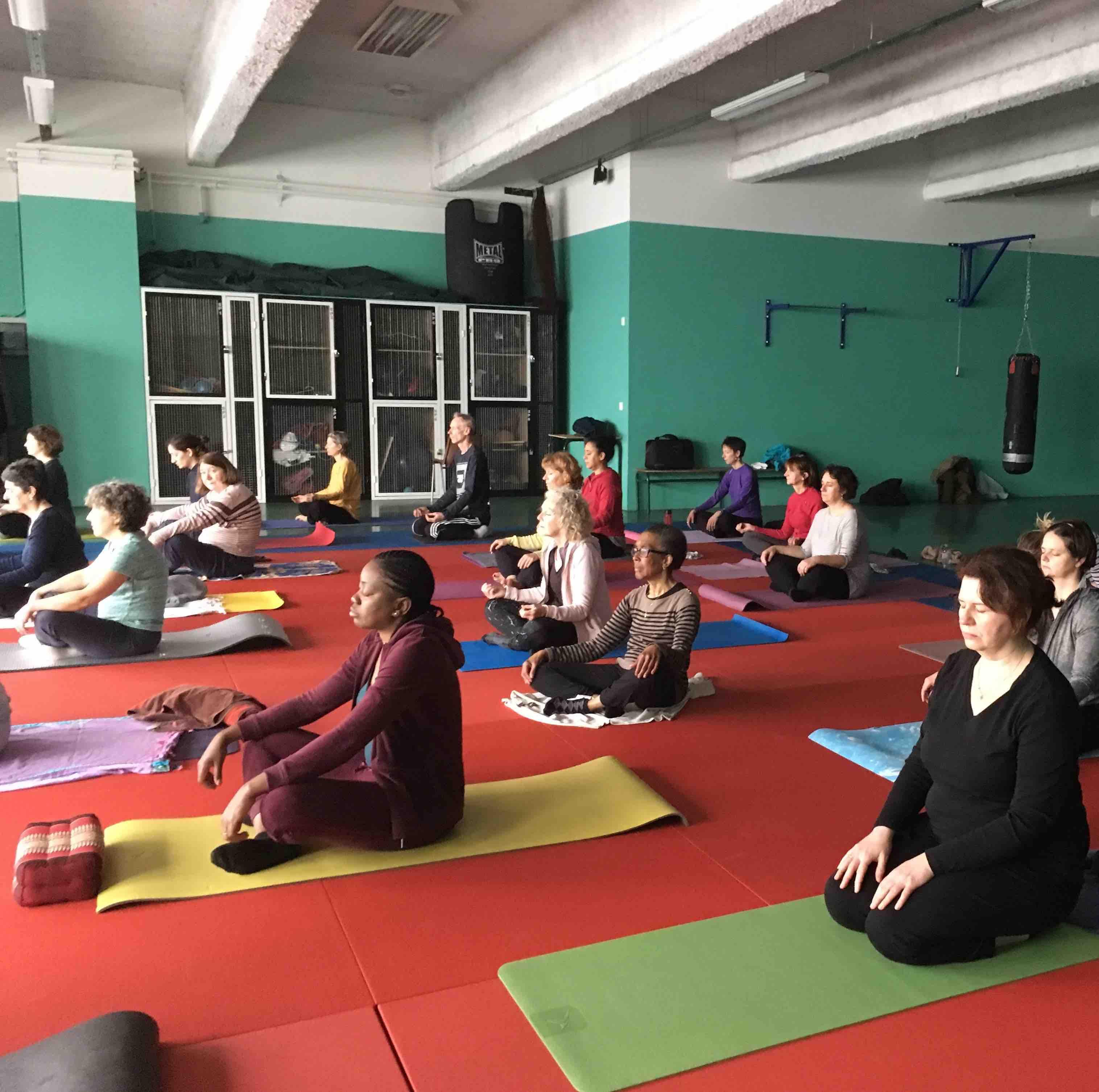 Cours de mediation en salle