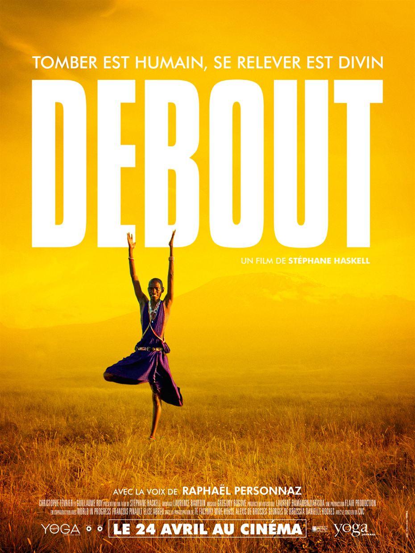 Poster de film Debout